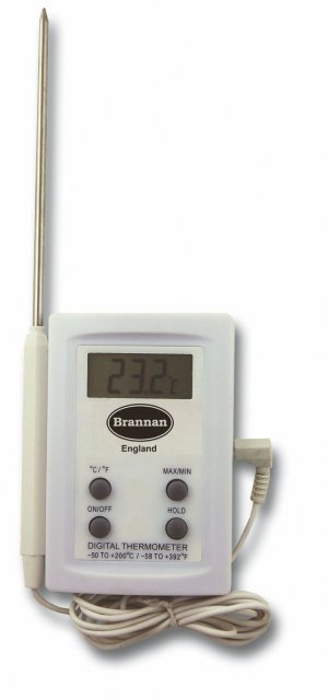Firstcall Firstcall Thermometer, Digital, with 4.7 inch (120mm) probe