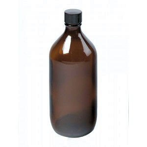 Firstcall Firstcall Chemical Storage Winchester Glass Bottle, Amber,100ml