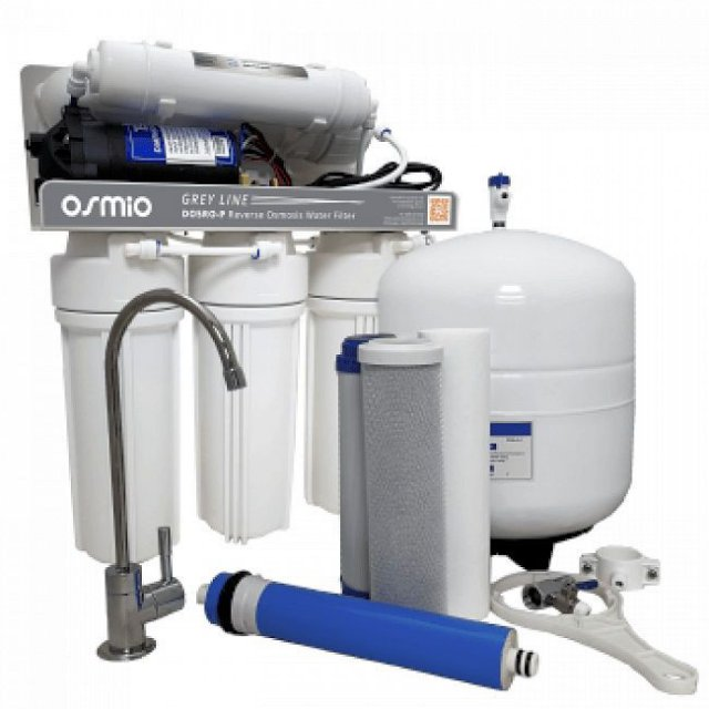 Osmio Osmio Grey Line 5-Stage Pumped Reverse Osmosis Water Filter