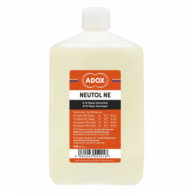 Adox Adox Neutol Liquid NE Paper Developer, 1.25 litres