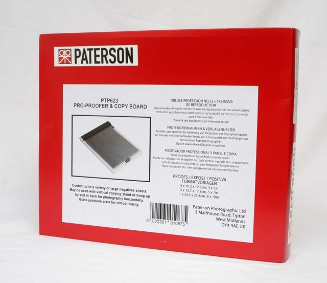 Paterson Paterson Contact Printing Frame, Universal