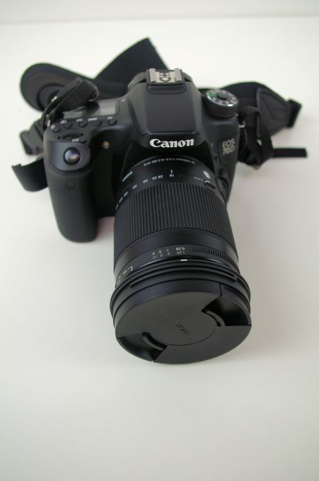 Canon 70D with Sigma 18-300mm