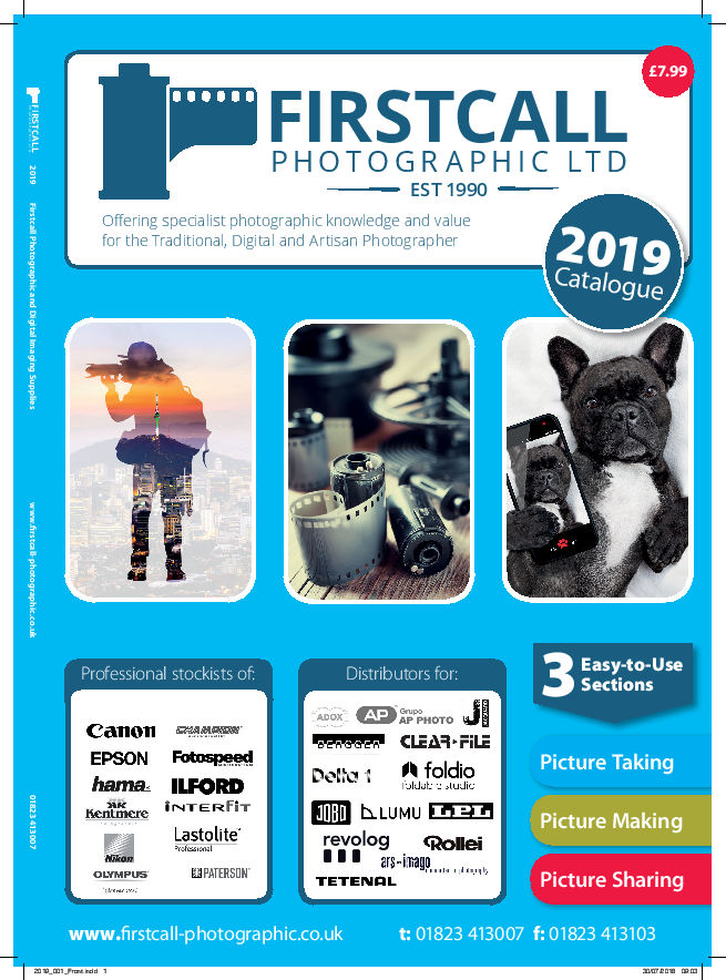 Firstcall Photographic 2019 Catalogue